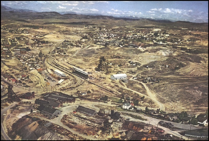 Berkeley Mine 1952. Photo courtesy of World Museum of Mining.